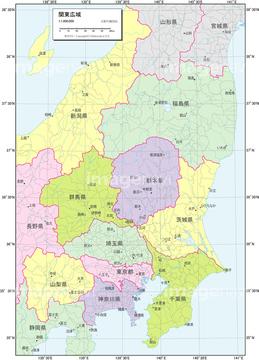 関東広域_行政区分図