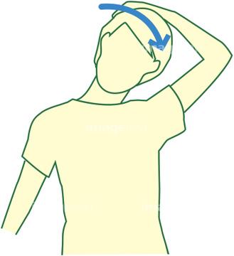 「頚 ストレッチ 画像フリー」の画像検索結果