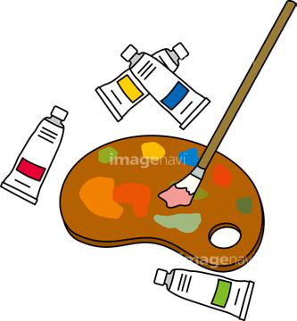 塗料 クリップアートの画像素材 デザインパーツイラストcgの写真