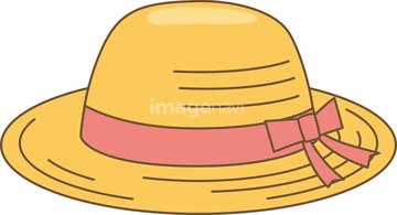 クリップアート 麦わら帽子の画像素材 人物イラストcgの写真素材