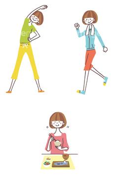 学校教育向け 外国語 シンプルイラスト楽しみの画像素材