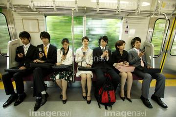 電車内の風景のイラスト素材 41200178 Pixta