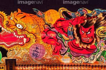 ねぶた祭りの画像素材 春夏の行事行事祝い事の写真