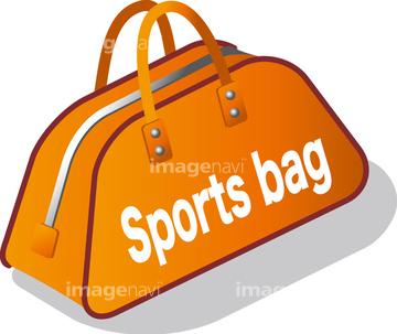 かばん スポーツバッグイラストの画像素材 イラスト素材なら