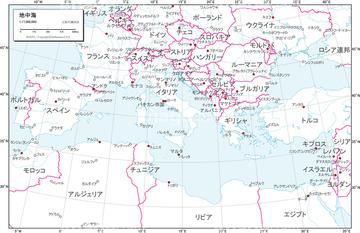 国名入り地図の画像素材 世界の地図地図衛星写真の地図素材なら