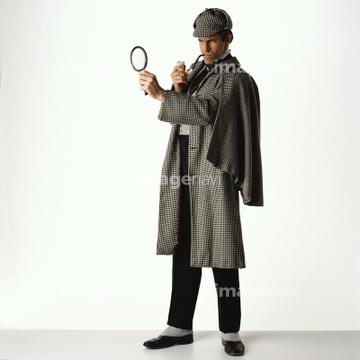 シャーロックホームズ 全身の画像素材 写真素材ならイメージナビ