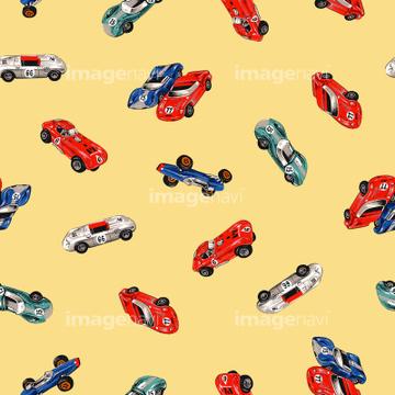 車 かわいい クラシックカーの画像素材 クラフトイラストcgの