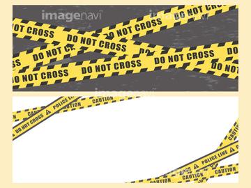 警戒線】の画像素材 | デザインパーツ・イラスト・CGの写真素材なら ...