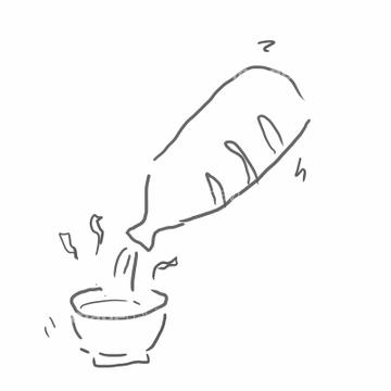 小物 デッサン 湯気の画像素材 食べ物飲み物イラストcgの写真