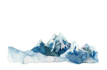 雪山 北国イラストの画像素材 山自然風景のイラスト素材なら