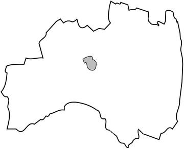 地図衛星写真 日本の地図 東北地方福島県の画像素材 地図