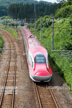 秋田新幹線こまち の画像素材 鉄道 乗り物 交通の写真素材ならイメージナビ
