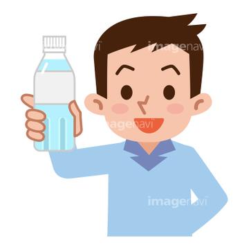 健康 家族 水分補給 楽しみイラストの画像素材 生き物イラスト