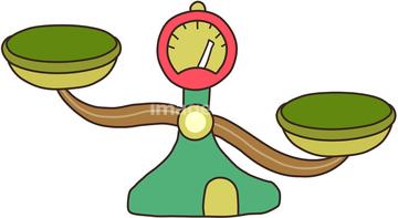 天秤 イラスト 上皿天秤の画像素材 イラスト素材ならイメージナビ