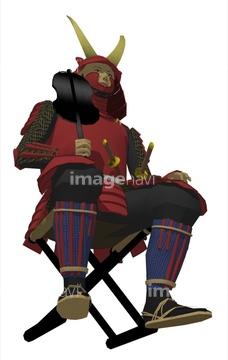 戦国時代 椅子イラストの画像素材 イラストcgのイラスト素材