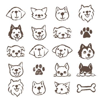 犬のイラスト特集 フレンチブルドッグイラストの画像素材 生き物