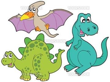 動物 イラスト かわいい 恐竜 ティラノサウルスレックスの画像素材