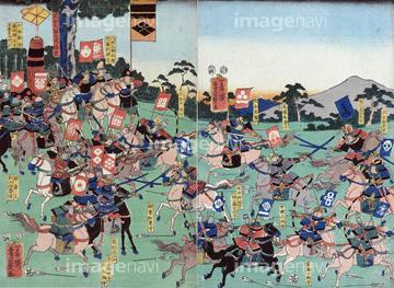 戦国時代 日本画の画像素材 美術イラストcgの写真素材なら