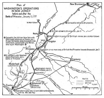 Battle of Brandywine PA c1777 map 30x24