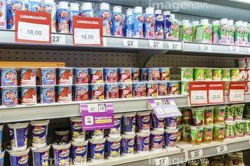 スーパーマーケット ラテンアメリカ】の画像素材   極地・秘境