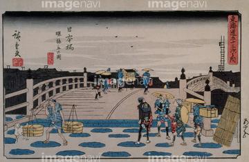 歌川広重の画像素材 美術イラストcgの写真素材ならイメージナビ