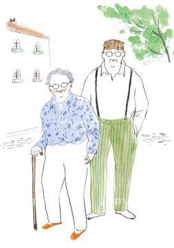 イラストcg 人物 カップル夫婦の画像素材 イラスト素材なら
