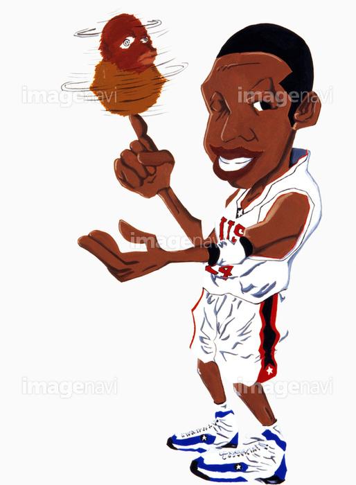 バスケットボール選手 イラスト の画像素材 イラスト素材ならイメージナビ