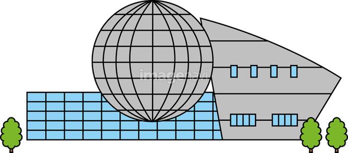 科学館の画像素材10046750 イラスト素材ならイメージナビ
