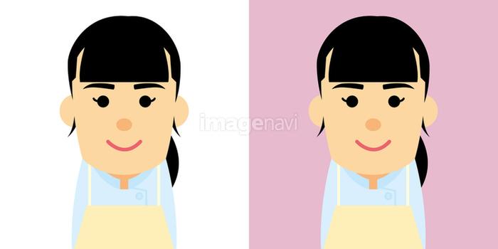 ペットショップで働く女性のイラストの画像素材10052895 イラスト