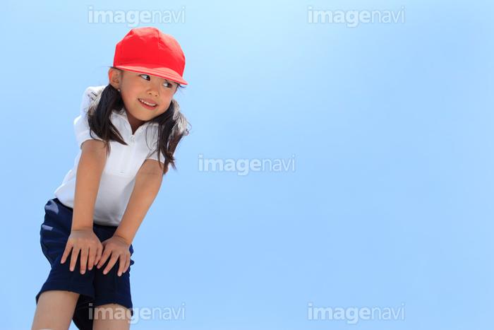 体操服姿の笑顔の女の子】の画像素材(13717918) | 写真素材なら ...