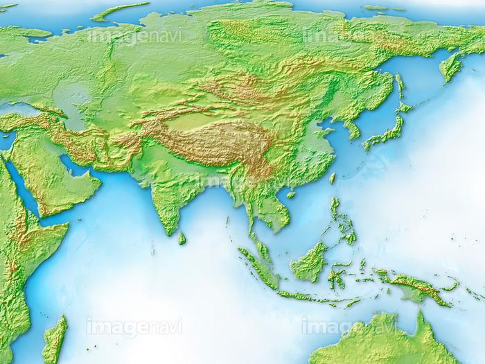 ユーラシア 大陸 地図