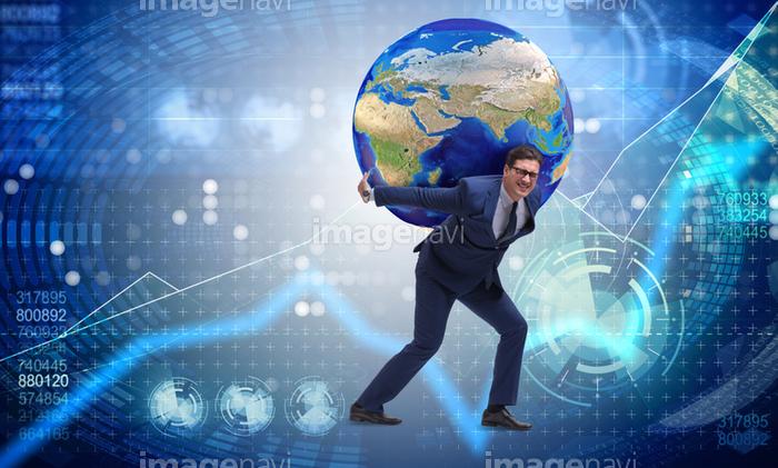 ビジネスマン 肩 オフィス 地図 自然 概念 困難 の画像素材 29479020