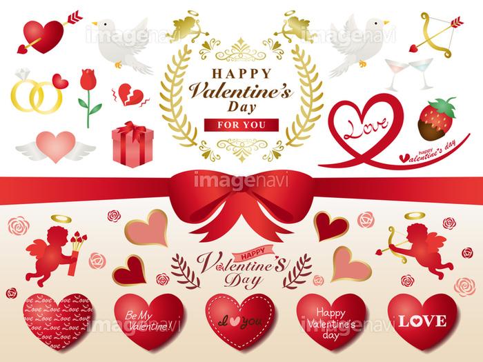バレンタイン イラスト素材セットの画像素材31049718 イラスト素材