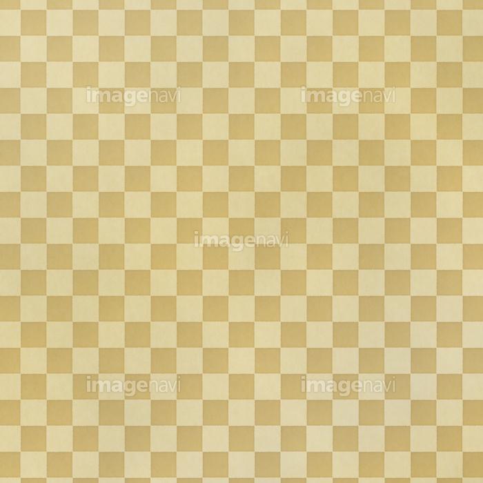 アナログ風 和風の市松模様背景イラスト素材 正方形の画像素材