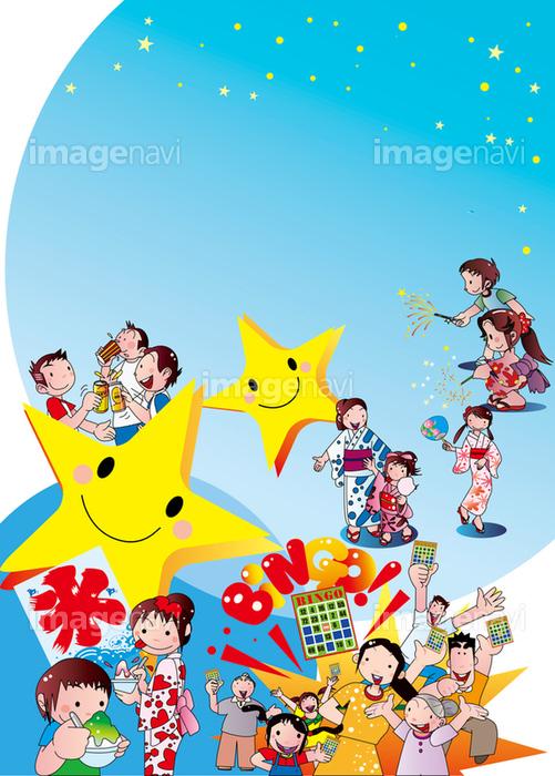 夏祭りのポスターの画像素材31152504 イラスト素材ならイメージナビ