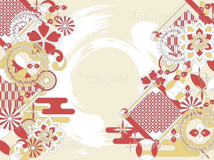 ポップな和柄背景素材の画像素材31235175 イラスト素材なら