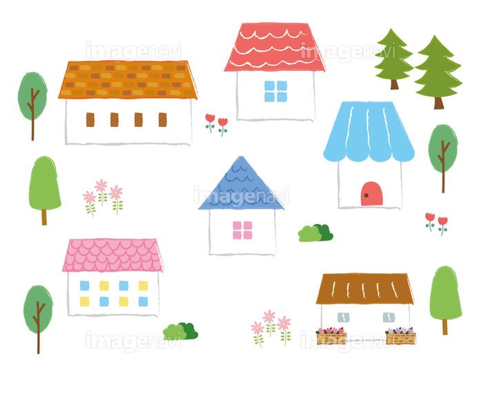 かわいい家のイラストアイコン素材の画像素材31321814 イラスト