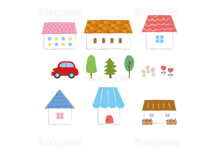かわいい家のイラストアイコン素材の画像素材31321815 イラスト