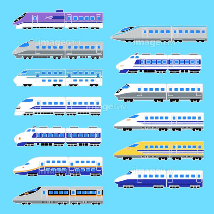 新幹線のイラストの画像素材31328196 Cg素材ならイメージナビ