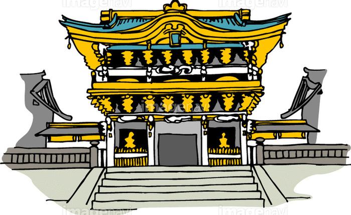 日光東照宮の画像素材40105778 イラスト素材ならイメージナビ