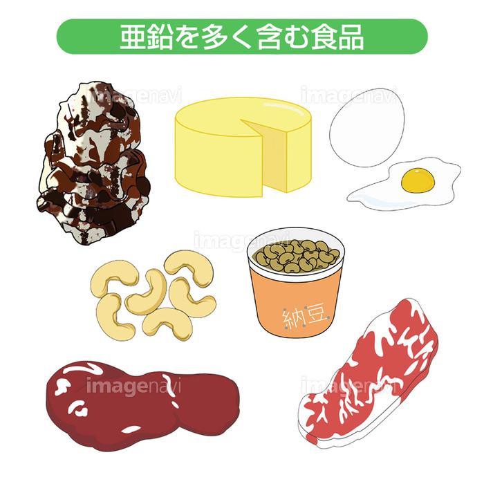 食材 亜鉛