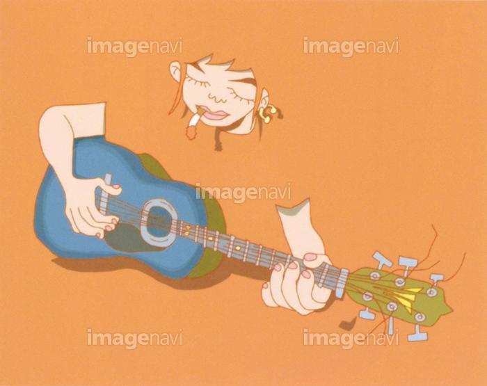 を 弾く ギター