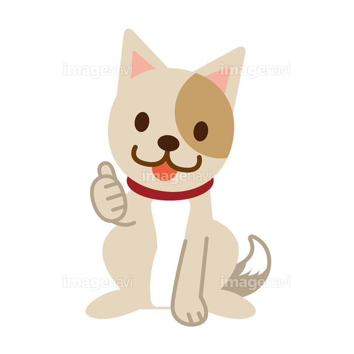 サムズアップ 犬 いいねの画像素材40550118 イラスト素材なら