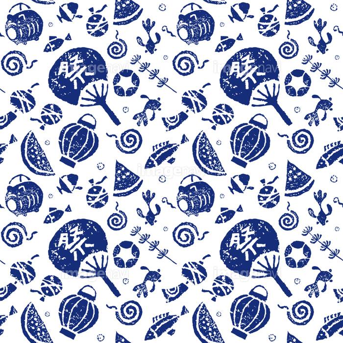 日本の夏模様夏の風物詩の画像素材41024824 イラスト素材なら
