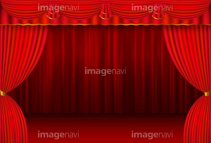 幕 舞台 カーテン 背景 】の画像素材(41032513)   イラスト素材なら ...