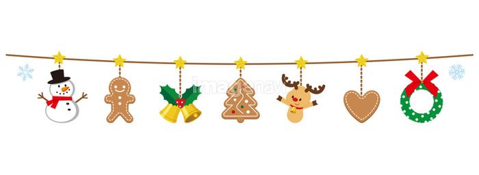 クリスマス ガーランドの画像素材41140999 イラスト素材なら