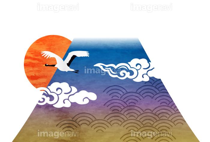 富士山 年賀状 日本 アイコンの画像素材41141055 イラスト素材なら