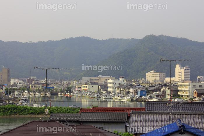 小浜漁港と小浜市街】の画像素材(41155433) | 写真素材ならイメージナビ
