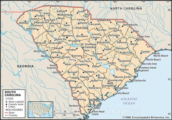 カロライナ 州 サウス