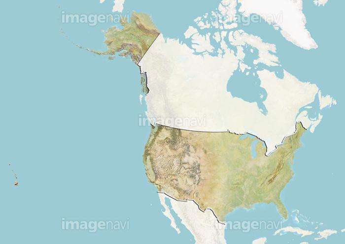 アメリカ 山脈 北